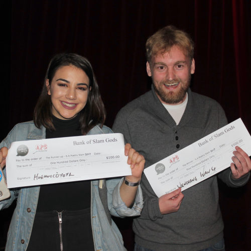 winner = andrew drake – runner up = chiara gabrielli