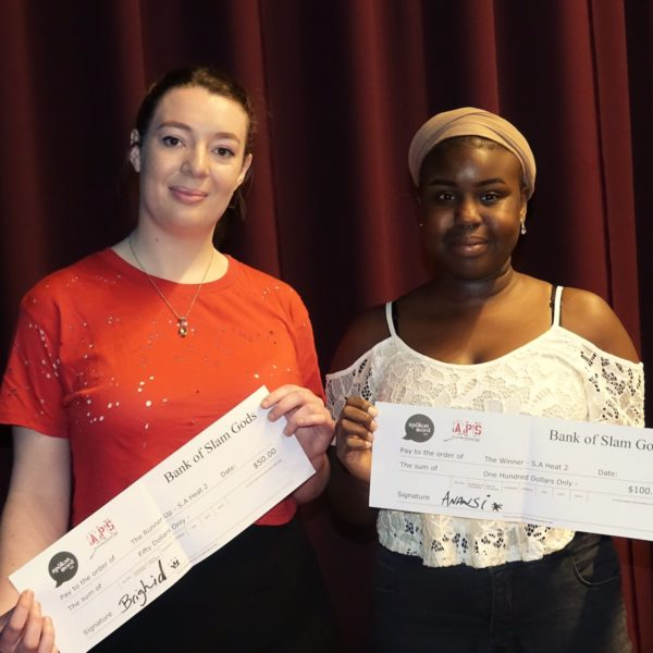 Kelly Lee Cusack and Manuela Atok – runner up and winner heat 2